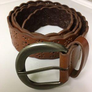 ae66f30333af Accessories - Women's Plus Size Leather Belt Brown -SZ 2X